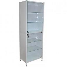 Шкаф медицинский двухсекционный однодверный Э-110-ШК