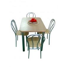 Стол обеденный 110*70 см толщина столешницы 3,2 см