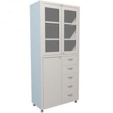 Шкаф медицинский металлический MD 2 1780 R-5