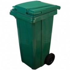 Мусорный контейнер МКА-120 литров цвет зеленый